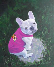 SOLD - Pet portrait commision